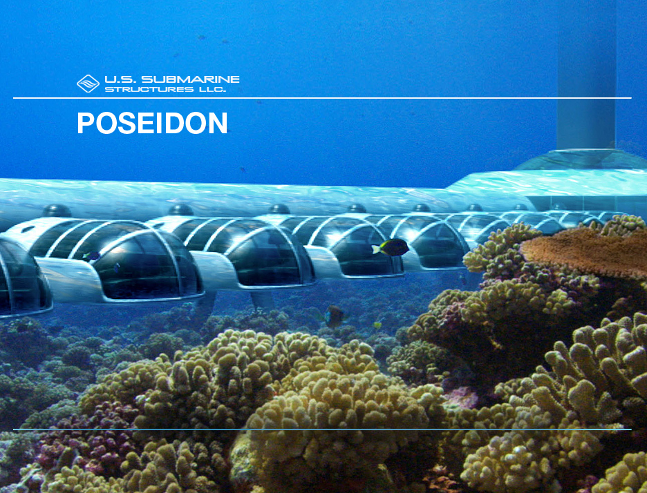 Poseidon undersea resort picture